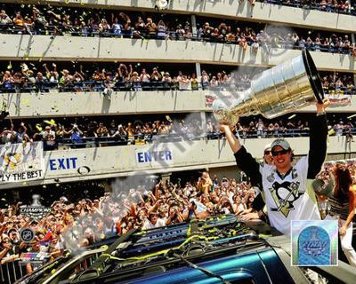Sidney Crosby 2009 Stanley Cup Champions Victory Parade
