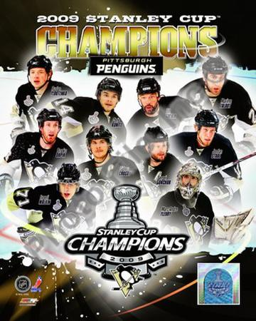 2008-09 Pittsburgh Penguins Stanley Cup Champions