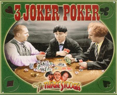 The Three Stooges - 3 Joker Poker