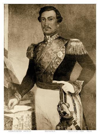 Kamehameha III, Hawaiian King (1813-1854)