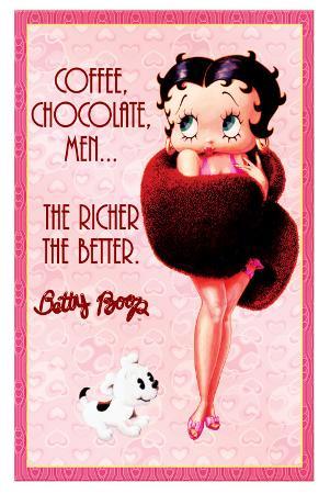Betty Boop - Coffee, Chocolate