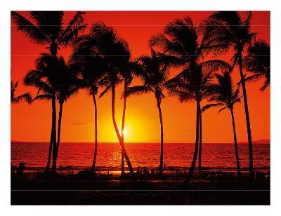 Red Hawaiian Sunset