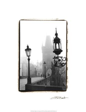 Charles Bridge in Morning Fog I