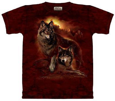 Wolf Sunset