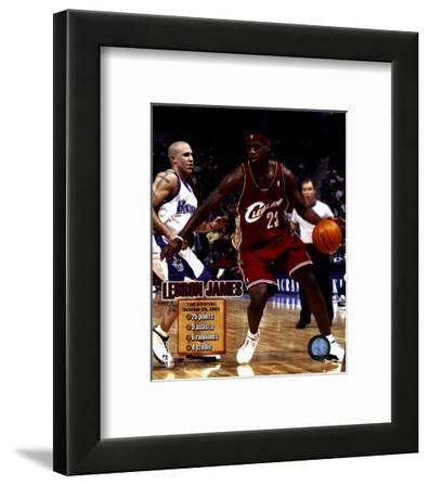 "LeBron James - 2003 ""The Arrival"" Composite"