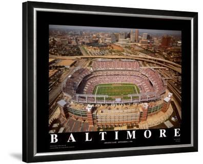 Baltimore First Opening Day At Raven Stadium Prints By