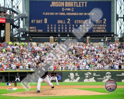 Mark Buehrle '09 Perfect Game Final Pitch with Scoreboard