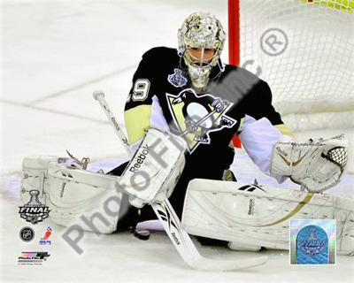 Marc-Andre Fleury Game Three of the 2008-09 NHL Stanley Cup Finals