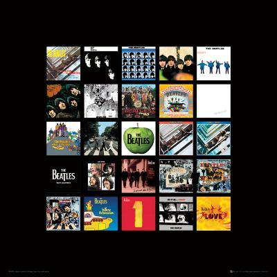 The Beatles: Album Collection Music Poster