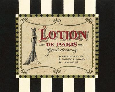 Lotion Label
