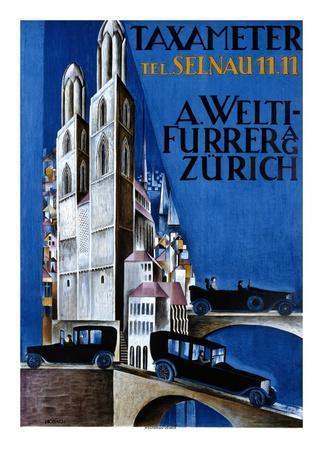 Taxameter A Welti-Furrer AG, Zurich