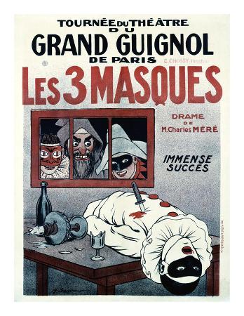 Theatre de Grand Guignol, Les 3 Masques