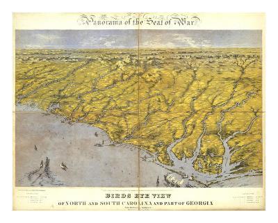 North and South Carolina and Part of Georgia, c.1861