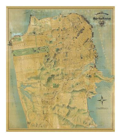 The Chevalier Map of San Francisco, c.1911