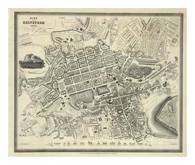 Edinburgh, Scotland, c.1844