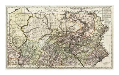 Pennsylvania, c.1797