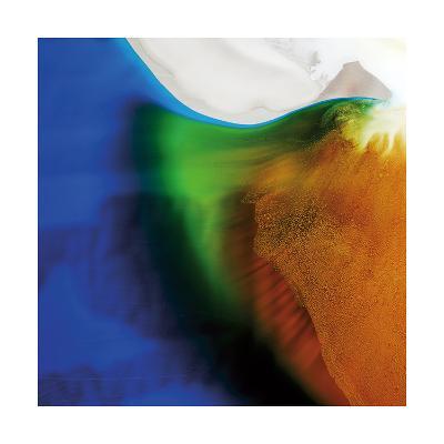 Blue, Green, and Orange Flow, c.2008