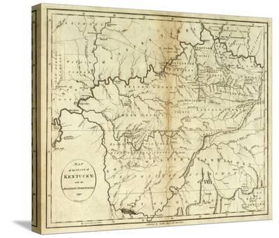 State of Kentucky, c.1796