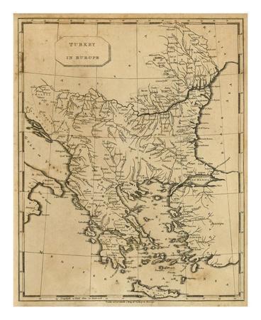 Turkey in Europe, c.1812