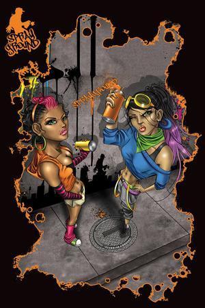 Sprayground - Graf Girls