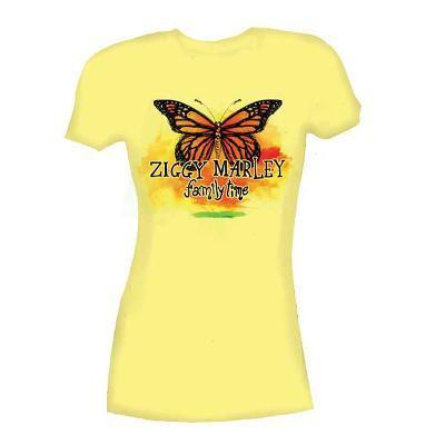 Women's: Ziggy Marley - Butterfly Tee