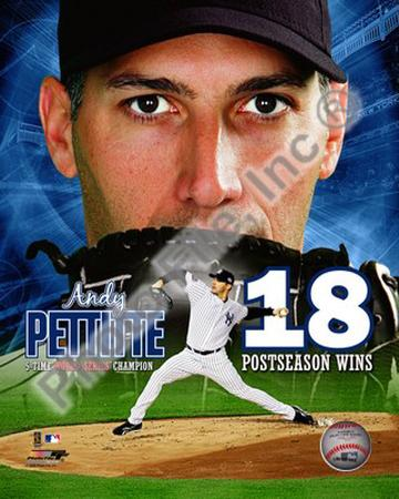 Andy Pettitte 18 Postseason Wins