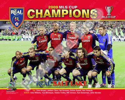 2009 Real Salt Lake MLS Champions