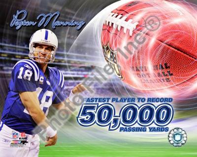 Peyton Manning 50,000 Yards