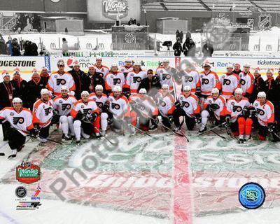 The Philadelphia Flyers Team Photo 2010 NHL Winter Classic