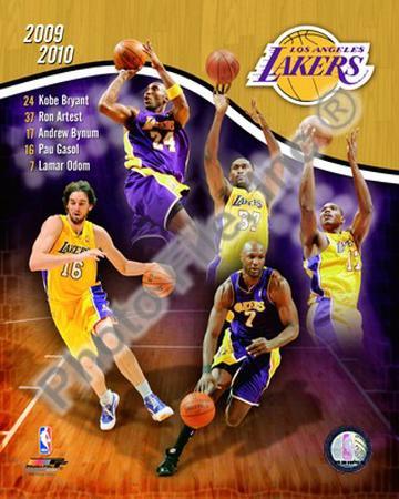 2009-10 Los Angeles Lakers Team