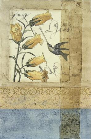 Embellished Hummingbird Reverie II