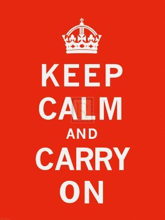 Keep Calm and Carry On II