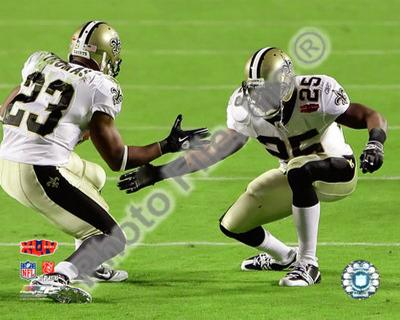 Reggie Bush & Pierre Thomas Super Bowl XLIV Celebration