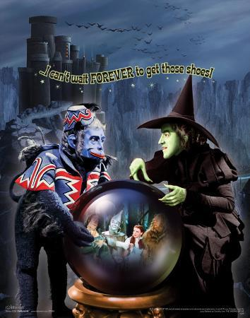 The Wizard of Oz: Witch Can't Wait Glitter