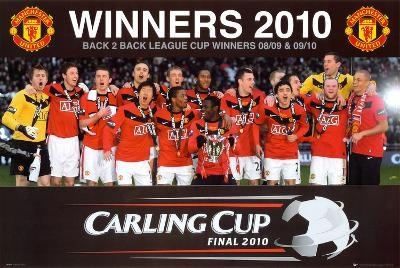 Manchester United - League Cup Winners