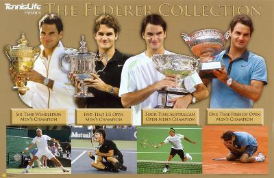 Roger Federer Tennis Sports Poster
