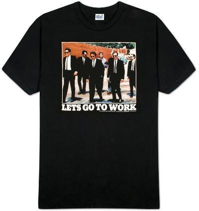 Reservoir Dogs - Go to Work