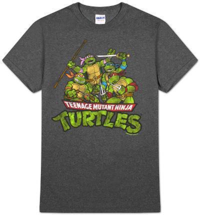 Teenage Mutant Ninja Turtles - TMNT Group (Slim Fit)