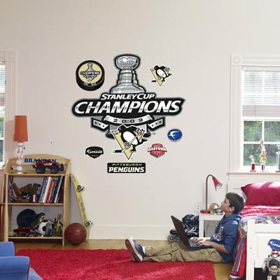 Pittsburgh Penguins Stanley Cup Champions Logo