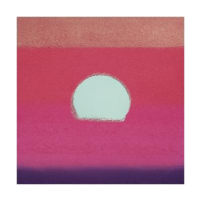 Sunset, c.1972 (hot pink, purple, red, blue)