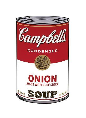 Campbell's Soup I: Onion, c.1968