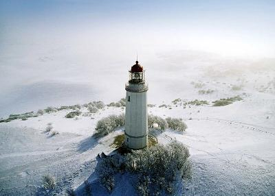 Lighthouse, Hidensee Island, Germany