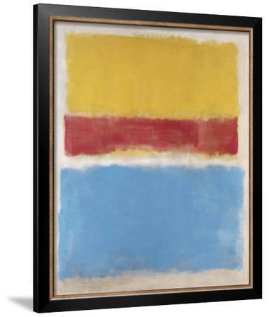 Untitled (Yellow, Red and Blue), c.1953