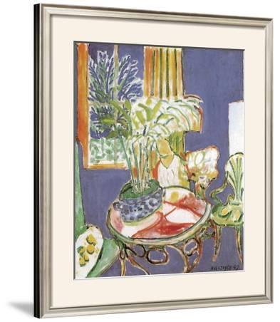 Petit Interieur Bleu, 1947