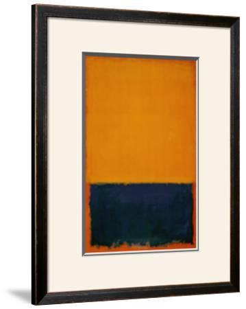 Yellow, Blue, Orange, 1955