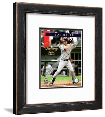 Joe Mauer 2008 American League Batting Title
