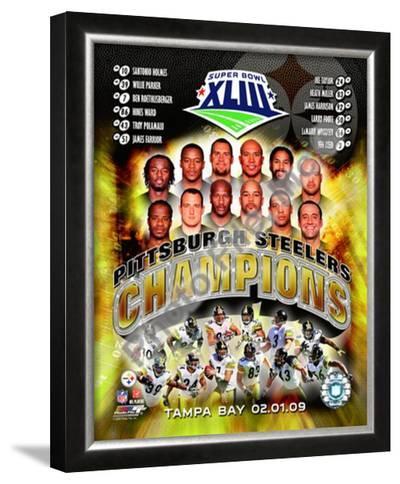 2008 Pittsburgh Steelers SuperBowl XLIII Champions