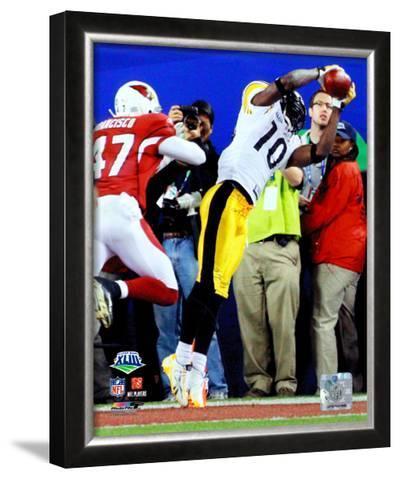 Santonio Holmes  - Super Bowl XLIII