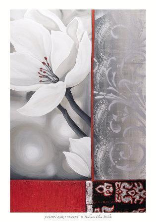 Bohemia Flora White