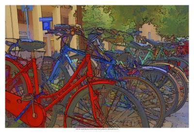 Colorful Bicycles I